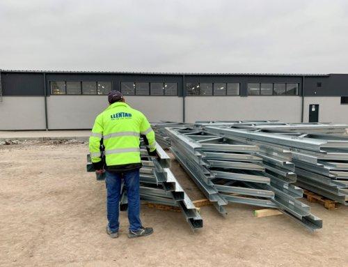 Будівництво нових сталевих будівель LLENTAB у листопаді
