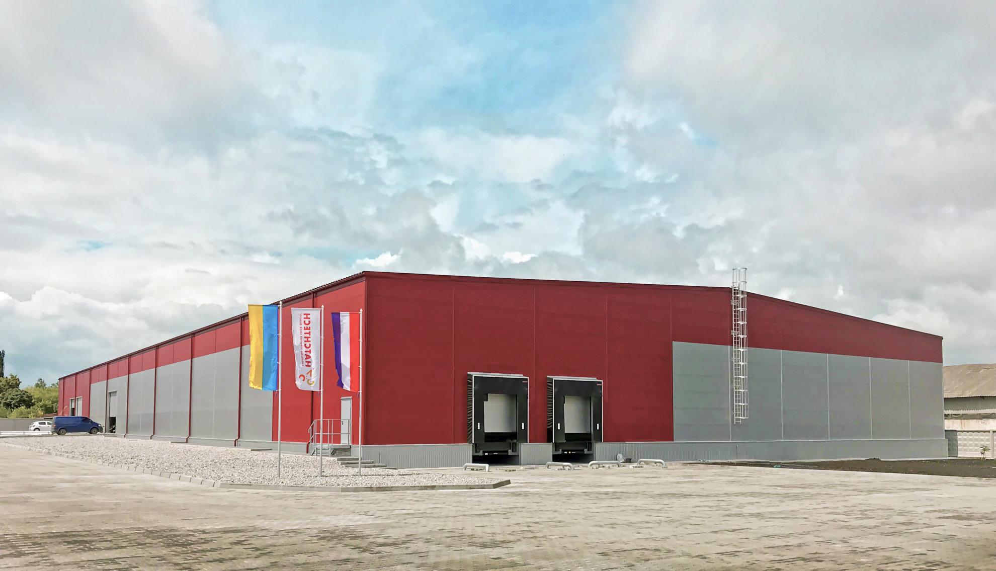 Складское здание в Барышевке, построенное llentab из сэндвич-панелей