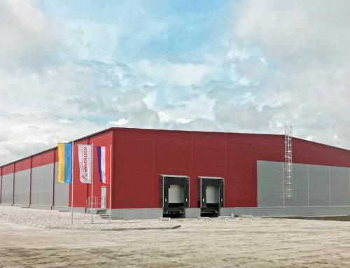 Склад у Баришівці – швидкомонтовані будівлі LLENTAB