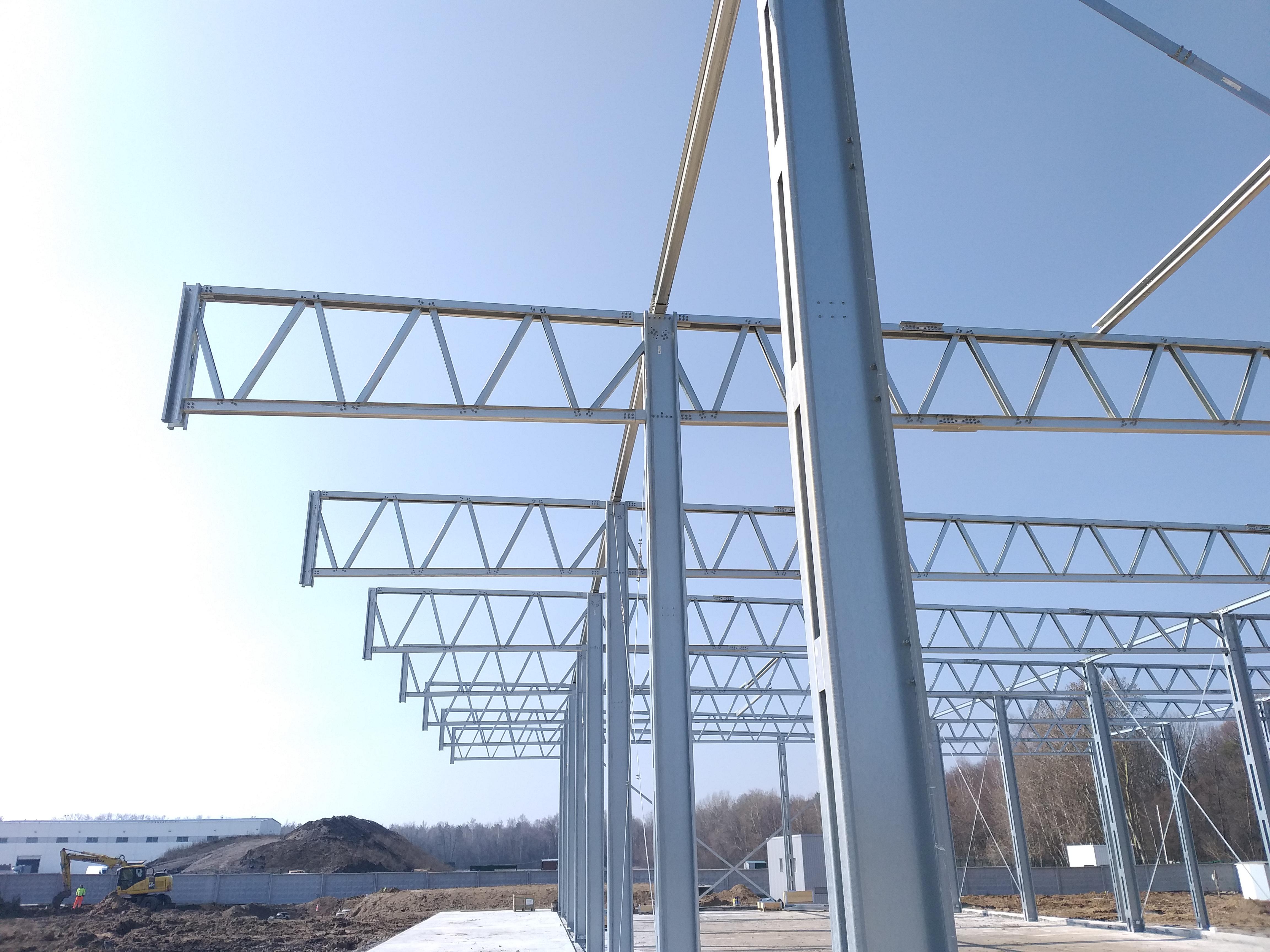 Строительство с легких металлоконструкций
