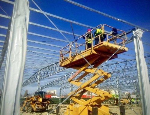 Строительство быстровозводимого здания в Черкассах