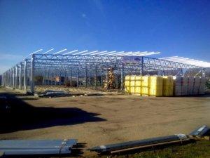Виробничо-складська будівля з легких металоконструкцій