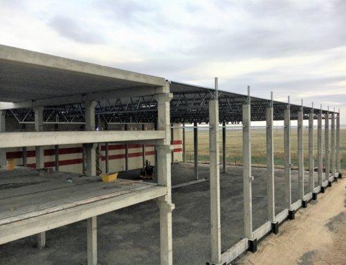Строительство склада в Киевской области