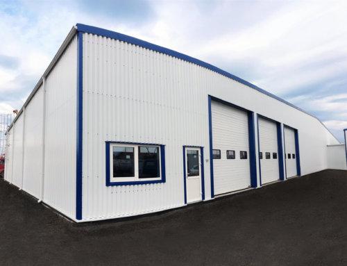 Складська будівля для виробника мінеральних вод