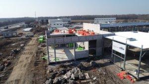 Монтаж сталевих будівель в Київській області