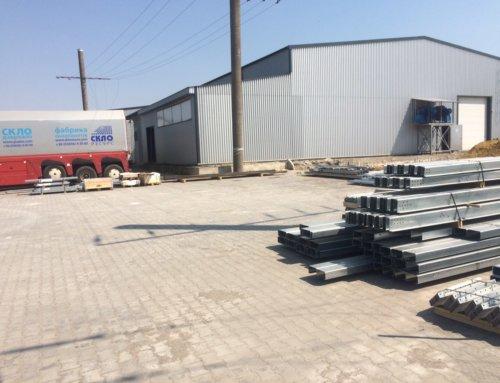 Будівництво цеху з виробництва склопакетів у м. Дубно