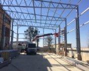 Будівництво швидкомонтованої будівлі в м. Рівне